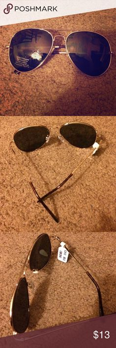 Urban Outfitters Aviator Sunglasses Brand new with tags. No case. Urban Outfitters Accessories Sunglasses