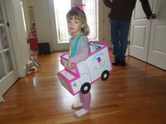 Ice Cream Truck costume!