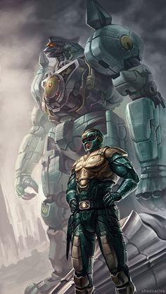 Green Ranger - Fan art by ShadCarlos.deviantart.com on @deviantART