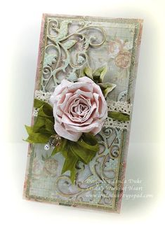 Spellbinders - Garden Weave, Die D-Lites,  Foliage Long Classic Rectangles LG,  and Standard Circles LG