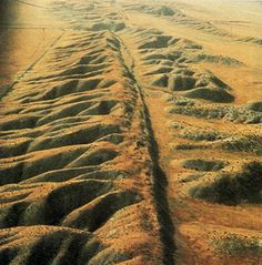 The San Andreas Fault..... You have to see this in person to fully appreciate it!
