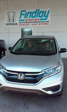 Congratulations Josefa On Your New 2015 CR V From Ruben And The Findlay  Honda Henderson