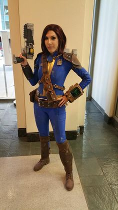 From scratch built Fallout 4 cosplay at PAX West. I've seen none better #Fallout4 #gaming #Fallout #Bethesda #games #PS4share #PS4 #FO4
