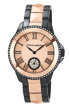 Vince Camuto Pyramid Bracelet Watch, 38mm