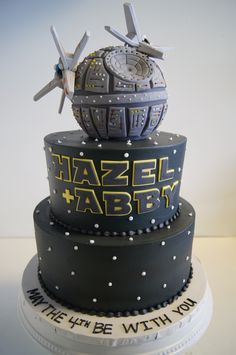 Deathstar #StarWars cake!