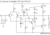 12V DC amplifier used 3 transistors D718 - B688 and 2N3904 ...