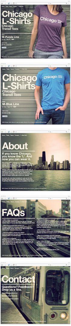 Chicago L-Shirts by Knoed