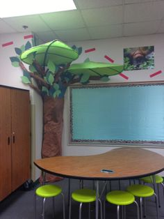 Ikea Tree, Adventure Theme for Teacher Classroom