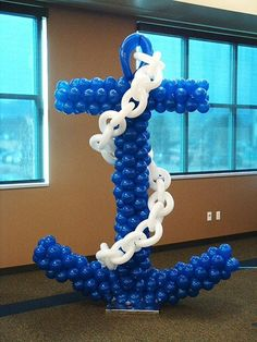 balloon anchor! perfect for navy/rotc graduation :)