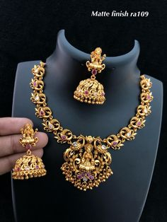 Jewelry & Watches Cheap Sale 22k Gold Plated Indian Wedding Necklace Earrings Pakistani Wedding Chain Set .,x Jewelry Sets