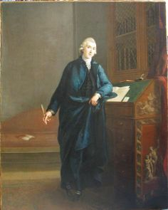 From the English and Drama blog post 'Friends of Genuis in Distress?'. Image: Founder of the Literary Fund, David Williams (1738-1816) by John Francis Rigaud