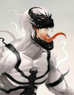 Anti-Venom by Yvan Quinet Anti Venom Marvel, Marvel Gif, Ms Marvel, Marvel Dc Comics, Marvel Heroes, Marvel Comic Character, Marvel Characters, Comic Books Art, Comic Art