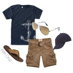 A fashion look from April 2014 featuring Hollister Co. shorts and Ray-Ban sunglasses. Browse and shop related looks.