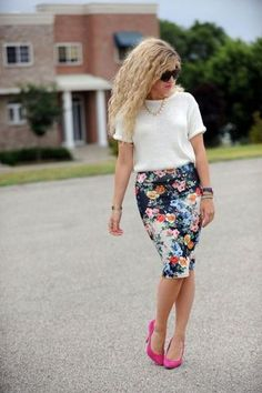 diy pencil skirt no sew - Google Search