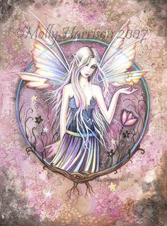 Fairy Fine Art Fantasy Print by Molly Harrison 12 x 16  'Wonderland'