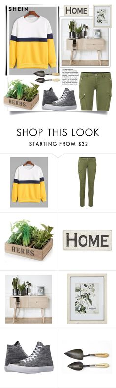 """""""Shein"""" by natalyapril1976 ❤ liked on Polyvore featuring Primitives By Kathy, Hübsch, New View and Converse"""