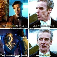 The Doctor and River Song Alex Kingston, Geeks, Space Man, 12th Doctor, Twelfth Doctor, Movies And Series, Tv Series, Doctor Who Quotes, Hello Sweetie