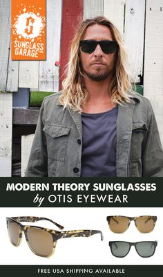 d6076d9d97 Otis Modern Theory Sunglasses - by Otis Eyewear - Free USA Shipping