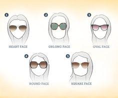 Flatter your face: sunglasses tips http://www.glasses.com/blog/flatter-your-face-sunglasses-tips/