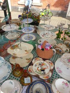 Any one for tea ? Ve vintage festival stall