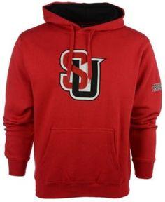 Colosseum Men's Seattle Redhawks Big Logo Hoodie - Red XXL
