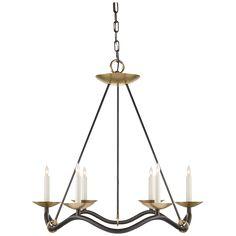 Choros Chandelier  More modern take on a chandelier
