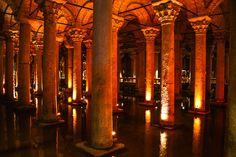 Basilica Cistern - Yerebatan Samici - Istanbul Turkey by mbell1975, via Flickr