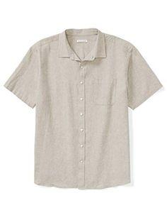 Best Mens Flannel Shirts, Denim Shirt Men, Cool Shirts, Amazon Essentials, Mens Essentials, Mens Big And Tall, Big & Tall, Collarless Shirt Men, Sun Shirt