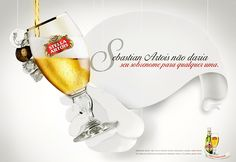 #Advertising, created by  BorghiErh LOWE agency for the #beer brand Stella Atrois. Photo by Marcelo Ribeiro. #MRibeiroPhoto #MakingHappen #drink