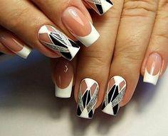 @Regrann from @nail_visage_bratsk - #ногти#наращивание#дизайнногтей#маникюр#братск #Regrann