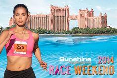 Marathon Bahamas Race Weekend January 18 & 19, 2014.  5th annual Sunshine Insurance, Susan G. Komen Race for the Cure in Nassau Paradise Island.