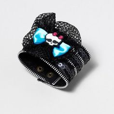 I feel this is a good basis for a DIY bracelet look. I'm not one for skulls or sequins.