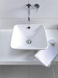 Duravit - Bathroom design series: Bacino - washbasins from Duravit.