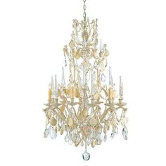 Currey and Company Buttermere Chandelier Small