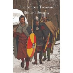 'The Amber Treasure' Cerdic is the nephew of a great warrior who died a hero of the Anglo-Saxon country of Deira.  Growing up in a quiet village, he dreams of the glories of battle and of one day writing his name into the sagas. He experiences the true horrors of war, however, when his home is attacked, his sister kidnapped, his family betrayed and his uncle's legendary sword stolen.