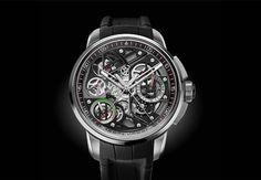 Top 10 Rattrapante Chronograph Luxury Collectors Watches   Angelus – U30 Tourbillon Rattrapante @majordor #majordor #angelusu30tourbillonrattrapante #luxurywatches   www.majordor.com