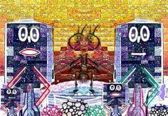 #familia señalin posando con el rey #hormiga. Creación digital realizada con #gimp. Ver más en:  www.librecreacion.net www.sirenasinmar.blogspot.com www.facebook.com/SugarherArts Rey, Times Square, Facebook, Movies, Movie Posters, Travel, Viajes, Film Poster, Films