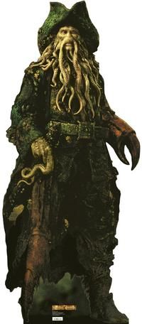 Pirates of the Caribbean: Dead Man's Chest - Life-Size Standup - Davy Jones (Bill Nighy) 6' 4