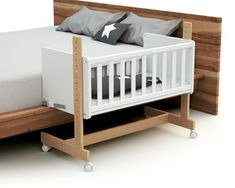 Baby Bedroom, Baby Boy Rooms, Baby Room Decor, Bed Extension For Baby, Unique Baby Cribs, Bedside Bassinet, Baby Crib Diy, Cot Bedding, Baby Furniture