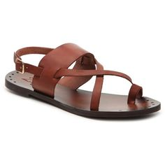 Zigi Artisan Elita Flat Sandal Women's Shoes | DSW ($35) ❤ liked on Polyvore featuring shoes, sandals, ziginy shoes, flat sandals, flat footwear, ziginy and ziginy sandals