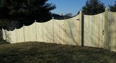 Shadow Box Privacy Fence Fences And Gates Pinterest