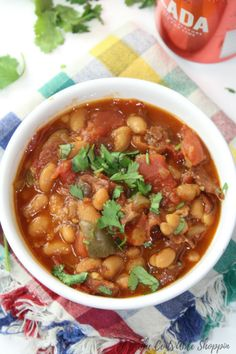 Peruano or Pinto beans cooked in a zesty and delicious mixture of spices, beer and vodka in under an hour in the Instant Pot.