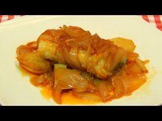 BACALAO CON TOMATE, RICO Y FÁCIL - A LA RIOJANA | Recetas de Cocina - YouTube