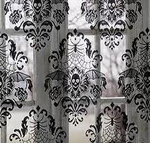 Skull Curtains - that motif, an inspiration for wrist tat