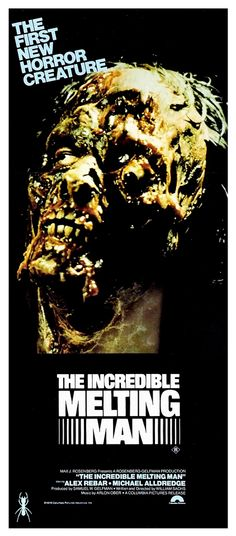 The Incredible Melting Man (William Sachs, 1977) Maquillaje de Rick Baker  www.facebook.com/insectosmx