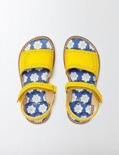 3fc64e4f9fc5 Cute velcro leather kids sandals. Love the blue daisy sole.  affiliate (if
