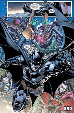 Bats with his Robins part 2 in Batman&robin eternal book 2