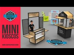 Food Stall Design, Food Cart Design, Food Truck Design, Mobile Coffee Cart, Mobile Coffee Shop, Kiosk Design, Cafe Design, Coffee Food Truck, Mini Cafe