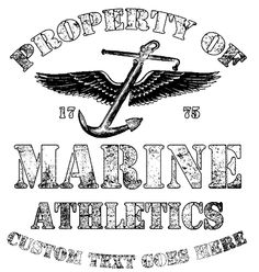 Property of Marine Athletics Military Shirt Marine Corps Shirts, Military Shirt, Athletics, Decals, Cover, Tags, Sticker, Decal