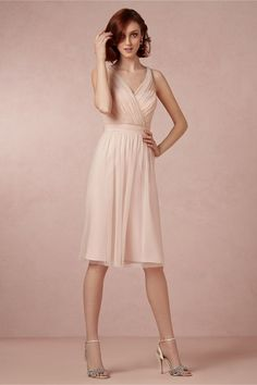 Tansy Dress from BHLDN This one was not at the store when I tried them on. It's pretty...